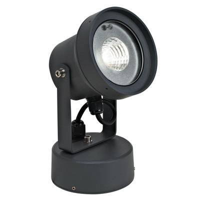 240V 12W LED Spotlight - Dark Grey / White LED