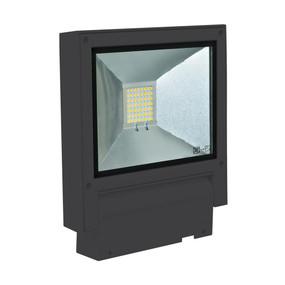 Flood Light - Vandal Resistant 20W 2000lm IP65 IK08 3000K 232mm Black - Min10