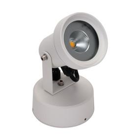 LED Spotlight - 9W 800lm IP54 3000K 200mm White - Min10