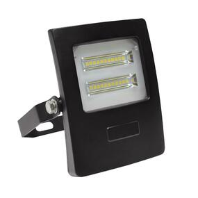Marine Grade Vandal Resistant Flood Light - 10W 910lm IP66 IK08 5000K 113mm Black - Min10