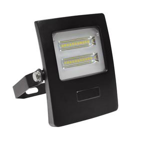 Flood Light - Vandal Resistant 10W 900lm IP66 IK08 3000K 113mm Black - Min10