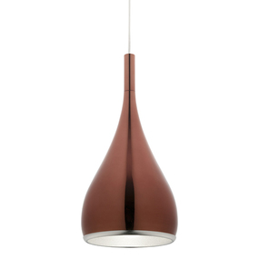 Contemporary Gold Pendant Light - Modern - Min10