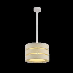 Pendant Light - E27 60W 350mm Grey - Min10