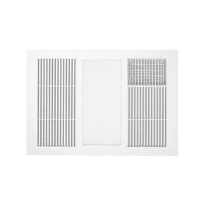 3-in-1 Bathroom Heater Fan Light - 540mm White - Min10