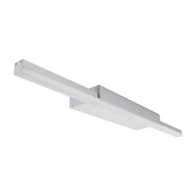 Marine Grade LED Vanity Light - 240V 6W 576lm IP20 5000K 600mm Anodized Aluminium - Min10