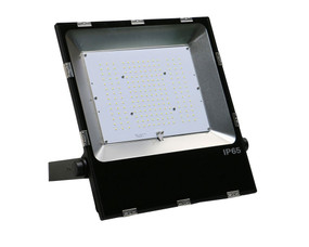 LED Flood Light - 240V 200W Black 5000K - Min10