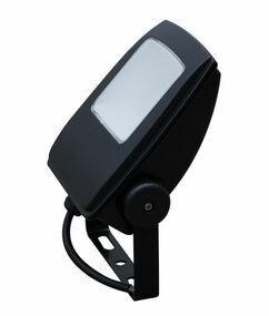Flood Light - LED Sleek 5000K 1200lm 198mm 15W Black - Min10