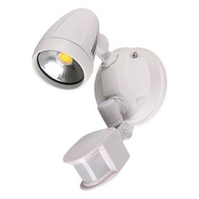 Robust-15S Single Head 15W LED Security Spotlight - Tri Colour, White - Min10