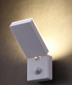 Security Light With Sensor - 15W 1100lm IP65 4000K 231.5mm White - Min10