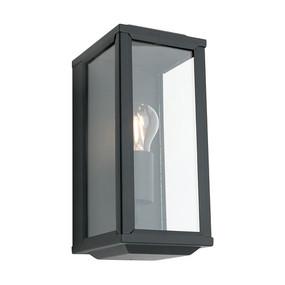Anglesea 1 Light Black Wall Light