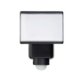 Flood Light With Sensor - 20W 1800lm IP44 Tri Colour 218mm Matte Black