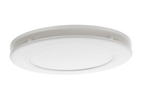 Exhaust Fan With Light - 12W 800lm IPX2 Tri Colour 250mm White
