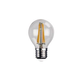LED E27 Filament Globe - 4W 400lm 2700K 45mm Clear