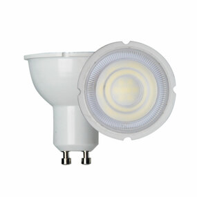 LED GU10 Globe - 7W 580lm 4000K 55mm White