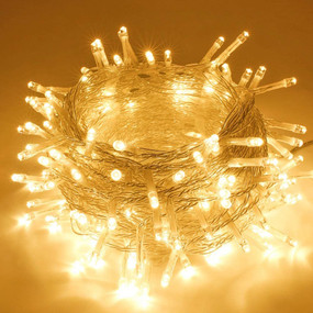 Christmas Lights - 20m 200 Warm White LEDs Indoor or Outdoor 240V