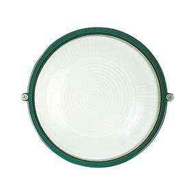 Wall Light - E27 60W IP54 180mm Green