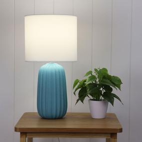 Table Lamp - E27 60W 470mm Matte Blue