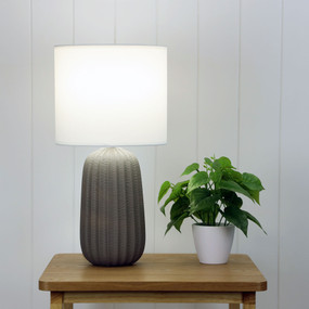 Table Lamp - E27 60W 470mm Matte Taupe