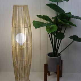 Floor Lamp - E27 42W 1000mm Natural