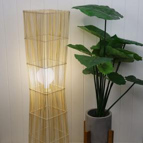 Floor Lamp - E27 42W 1100mm Natural