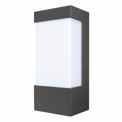 Light: EAVE Exterior Wall Light - CHARCOAL