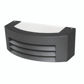 Light: BEREA Exterior Wall Light - BLACK