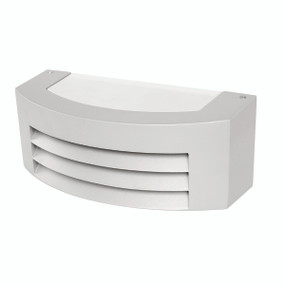 Light: BEREA Exterior Wall Light - SILVER