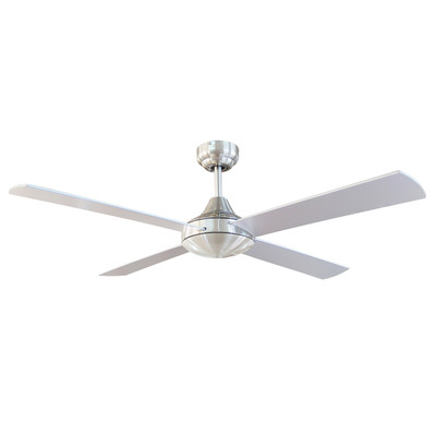 Tempo 48 Inch Ceiling Fan - Chrome