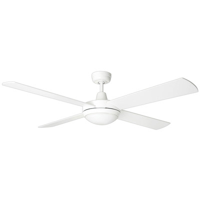 Tempest 52 Inch  Ceiling Fan with LED Light - White