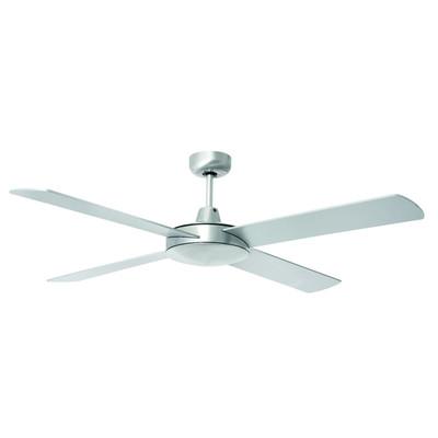 Tempest 52 Inch Ceiling Fan - Brushed Aluminium
