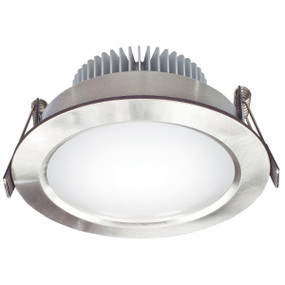 Light: UMBRA-II SMD LED Downlight - BRUSHED ALUMINIUM