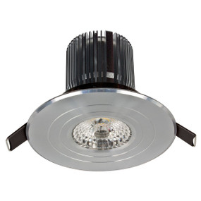 Light: LUXOR High Lumen LED Round Fixed Downlight (Cool White) - ANODISED ALUMINIUM