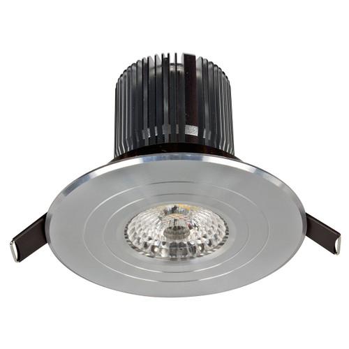 Light: LUXOR High Lumen LED Round Fixed Downlight (Cool White) - ANODISED ALUMINIUM