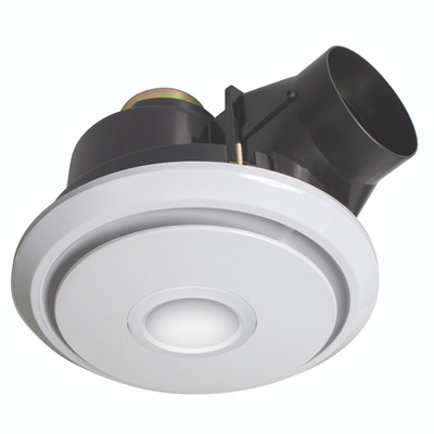 Light: BOREAL Exhaust Fan with 11W LED Light - WHITE