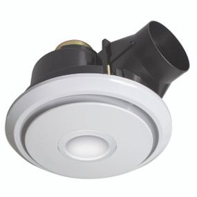 Light: BOREAL 325mm Exhaust Fan with 11W LED Light - WHITE