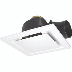 Light: SARICO-II Square Exhaust Fan - WHITE