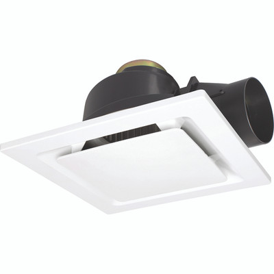 Light: SARICO-II Square Exhaust Fan - WHITE