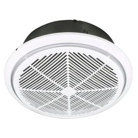 Whisper 240mm High Velocity Round Exhaust Fan - White