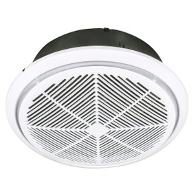 Whisper 300mm High Velocity Round Exhaust Fan - White