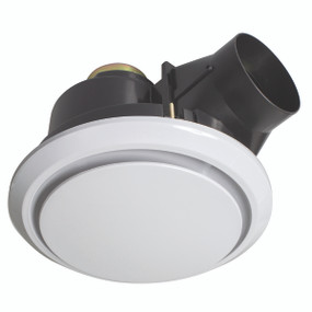 Light: TALON Round Exhaust Fan - WHITE