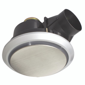 Light: TALON Round Exhaust Fan - STAINLESS STEEL