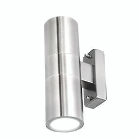 Light: DENVER II Up/Down LED Wall Light - STAINLESS STEEL