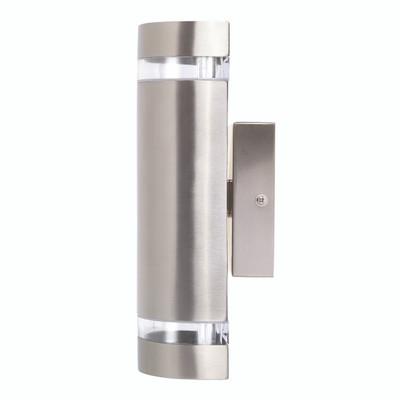 Light: DORMON Up/Down Exterior Wall Light - STAINLESS STEEL