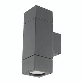 Light: PRAIRIE Up/Down Exterior Wall Light - CHARCOAL
