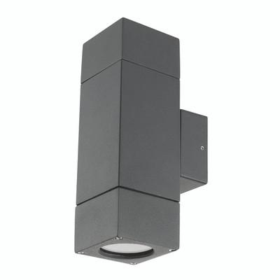 Light: PRAIRIE Up/Down Exterior Wall Light - CHARCOAL