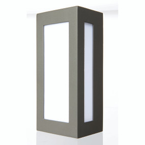 Light: EAVE Lantern-style Exterior Wall Light - CHARCOAL
