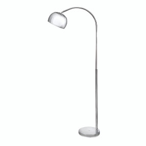 REACH Mini Floor Lamp - CHROME