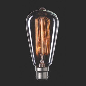 Light: VINTAGE Filament ST18 Globes - B22 base)