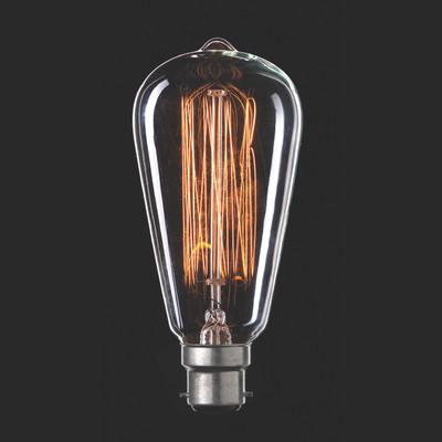 Light: VINTAGE Filament ST18 Globes - B22 base)