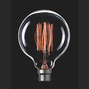 Light: VINTAGE Filament G95 Globes - B22 base)